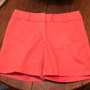 Mid-length shorts. Worn once.